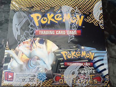 Black & White Next Destinies Booster Box Pokemon Trading Card Sealed Box Rare
