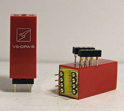 1 x pair Burson Audio Single Opamps Upgrading for your system (Revision V5)