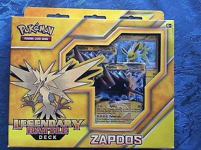 POKEMON Legendary Battle Deck Zapdos Cards TCG New (Aus) Promo Ex Zapdos EX Card