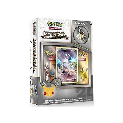Arceus Mythical Pokemon Collection Pokemon Trading Card Game Collection Box NEW