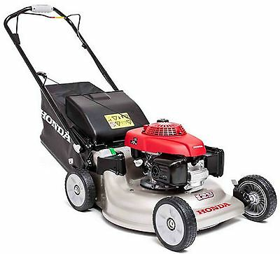 "Honda Izy HRG 536VK 21"" 53cm Self Propelled Lawn Mower Mulch"