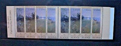 ALAND 2003 Landscape in Summer Paintings. BOOKLET. Mint Never Hinged. SG229a.