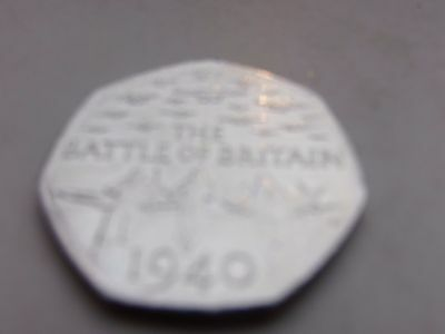 BATTLE OF BRITAIN  2015    50p   coin