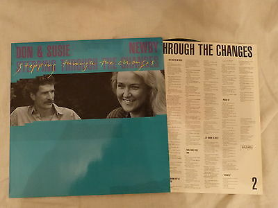 "12"" LP xian - Don & Susie Newby - Stepping Through the Changes Hänssler"