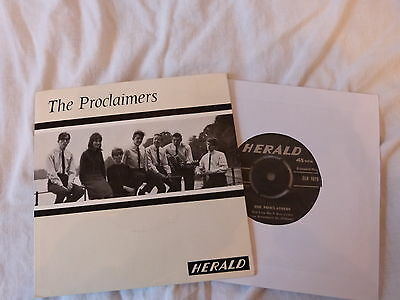 "SG 7"" Xian - The Proclaimers Vol 1 - Herald 1075 (4 Songs)"