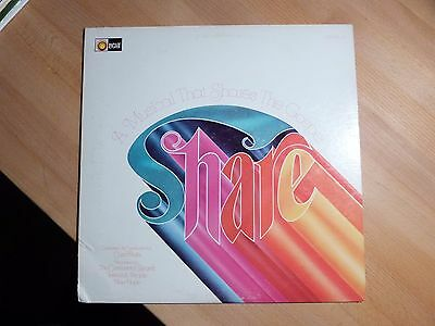 "12"" LP - The Continental Singers - Share - A Musical - Light Rec. (17 Songs)"