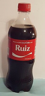 Share A Coke Zero With Ruiz Coca Cola 20 Oz Bottle 2017