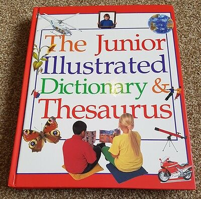 the junior illustrated dictionary and thesauus