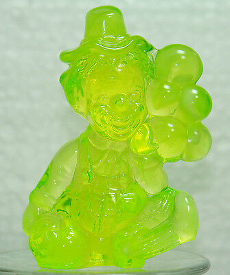 """Mosser Glass  """"All the World Loves a Clown"""" Jiggs with original box Vaseline"""
