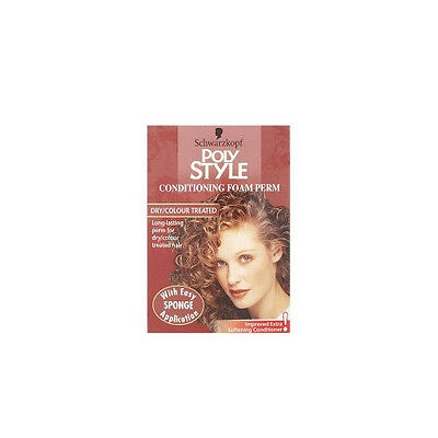 Schwarzkopf Poly Style Foam Conditioning Home Perms Dry/Colour Treated