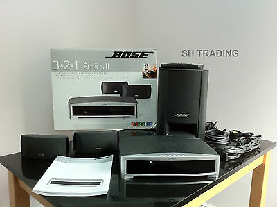Boxed Bose 3-2-1 321 Series Ii Cd Dvd Home Cinema Sound System