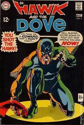 Hawk and Dove (1968 1st Series) #5 VG 4.0 LOW GRADE