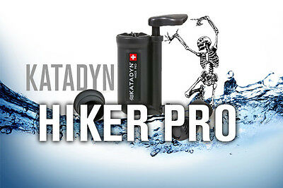 Filtro De Agua Katadyn Hiker Pro Negro Potable Purificador Outdoor