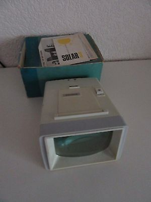 Photax Solar 3 Colour Slide  Viewer With Box And Instructions
