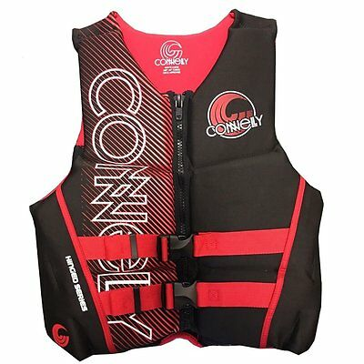 CONNELLY Neo Vest Neoprene vest Lifejacket Collition protector vest red