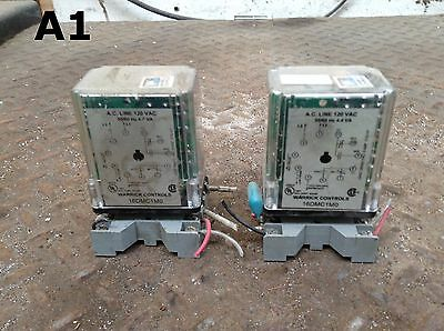 Warrick Controls 16DMC1M0 Ice Cube Relay and Socket 120VAC -Lot of 2