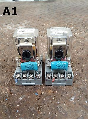 Potter & Brumfield KRP-11DG-24 Ice Cube/Plug-In Relay and Socket 24VDC -Lot of 2