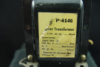 One Vintage Stancor P 6146 Audio Power Vacuum Tube Transformer