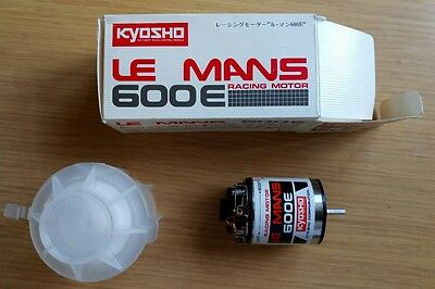 BNIB Vintage Kyosho Le Mans 600E Racing Motor - With Ballrace Upgrade