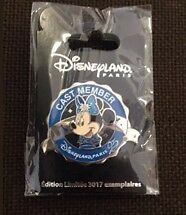 pins cast member disney 25ème minnie