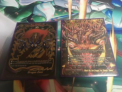 Full Futurecard Buddyfight Competitive Dragon Zwei Deck With Extras
