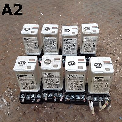 Allen-Bradley 700-HA32A1 Series A Ice Cube/Plug-In Relay 230VAC 120VAC -Lot of 8