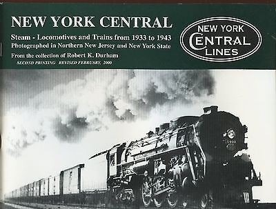 New York CENTRAL Railroad 1933 - 1943