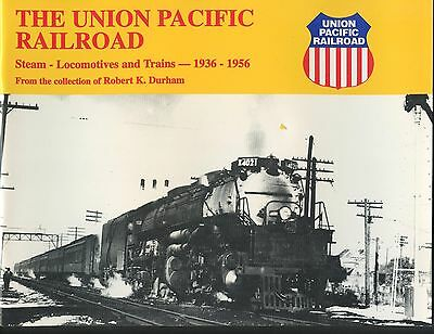 Union Pacific Railroad Steam Locomotives 1936 - 1956