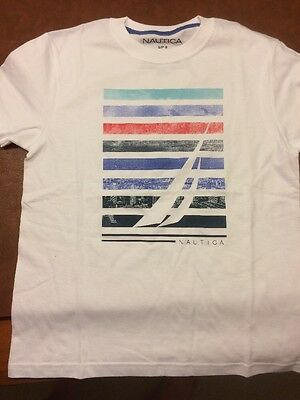 Nautica Boys T-shirt Size Medium (10-12)