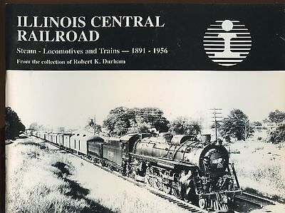 ILLINOIS CENTRAL Railroad 1891 - 1956