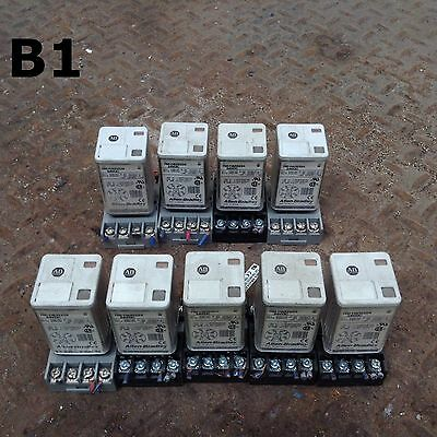 Allen-Bradley 700-HA32Z24 Series B Ice Cube/Plug-In Relay 230VAC 24VDC -Lot of 9