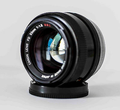 Canon FD 55 mm f 1.2 SSC . LENS