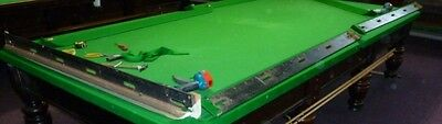 steel block cushions for full size snooker table
