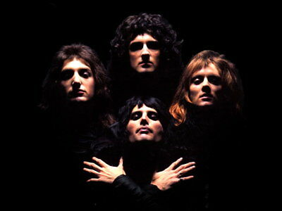 QUEEN Bohemian Rhapsody Cover Music Art Wall Print POSTER UK