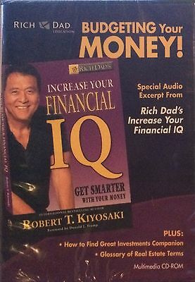 Rich Dad Budgeting Your Money Robert Kiyosaki CD-ROM Investing Finance Wealth