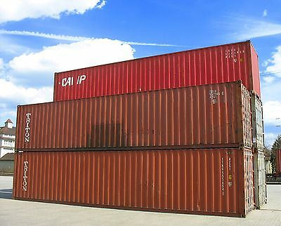40' High Cube Cargo Ocean shipping storage containers  - **NATIONWIDE****