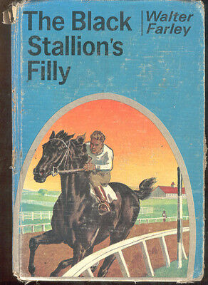 The Black Stallion's Filly Walter Farley Horse Story Book 1952 Hardcover
