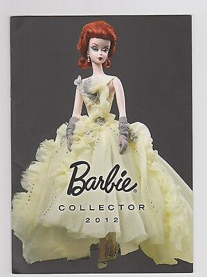 Catalogue Barbie Collector  2012
