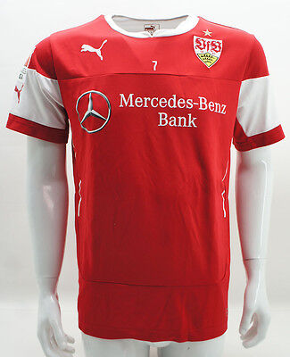 VfB Stuttgart Trainingsshirt T-Shirt match worn #7 Harnik 14/15
