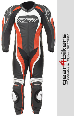 RST Tractech Evo 2 1415 One Piece RED Motorcycle Leather Suit Track Race Sport 1