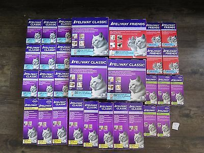 NEW Ceva / Comfort Zone Feliway LOT 30 Sprays Refills Diffusers Authentic!
