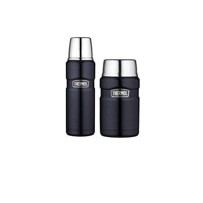 Thermos Vacuum Insulated 24oz Food Jar and 16oz Drink Bottle