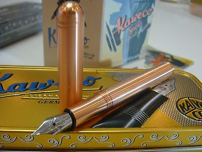 RARE Kaweco Rose Gold SPECIAL EDITION Liliput Made of copper Fountain pen