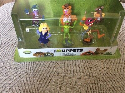 The Muppets Disney Store Exclusive Figure Playset