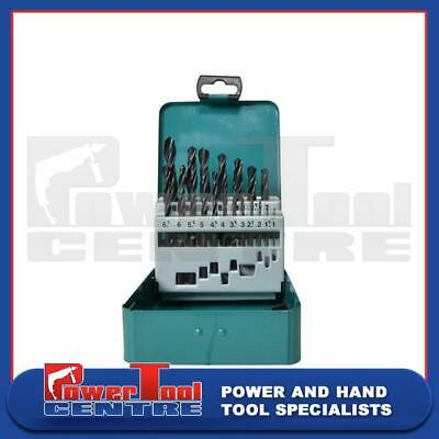 Makita D-54081 19 Piece HSS-R Metal Drill Bit Set In Storage Tin