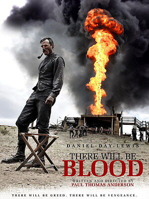 There Will Be Blood Daniel Day-Lewis Movie Wall Print POSTER UK