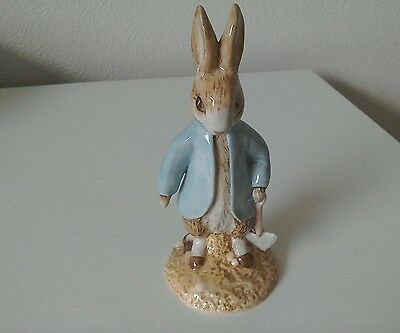 Beswick Beatrix Potter Peter Rabbit Digging