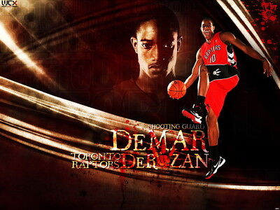 D0654 Demar Derozan Raptors NBA Wall Print POSTER US