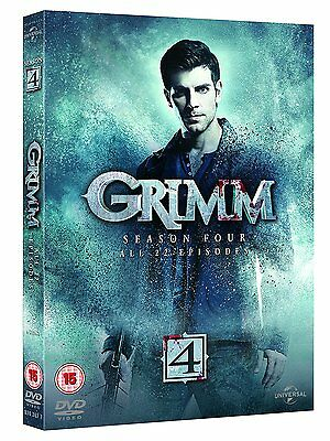 Grimm Complete Season 4 (6 Discs) New and sealed DVD Box Set