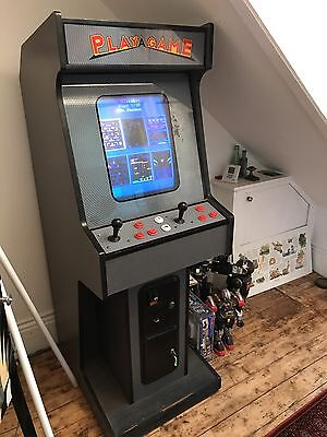 Retro Arcade Machine Full Working Games 60 Games Pub Bar Space In Vader she